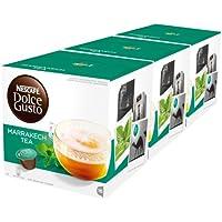 NESCAFÉ Dolce Gusto Marrakesh Style Tea   Pack de 3 x 16 Cápsulas - Total: 48 Cápsulas de té