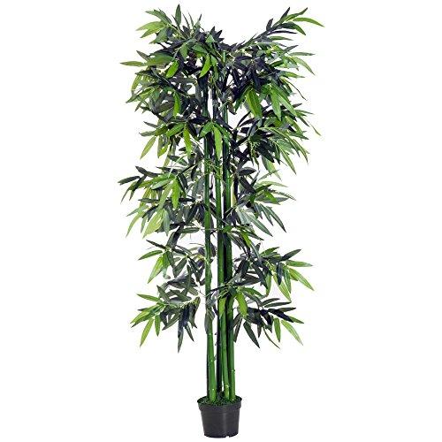 Outsunny Bambou Artificiel XXL 1...