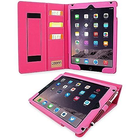 Snugg iPad 3 e iPad 4 Caso (Rosa), Copertura Ecopelle