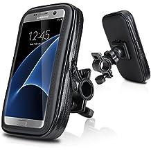 "Soporte Funda Bolsa Para Bicicleta, Wotek 5,2""--5,8"" Universale Motocicleta Bici Bicicleta Manillar Prueba de Agua Caja Bolsa Monte Soporte Para iPhone 6s /6 Plus, Samsung Galaxy S7 /S6 EDGE, Samsung Galaxy S8 S7 S6 S5, HUAWEI P9 P8, LG G5 G4 (5.2""-5.8"")"