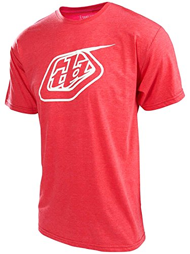 Troy Lee Designs Red Heather Logo T-Shirt
