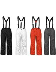 ICEPEAK Theron Niños Pantalones de esquí invierno nieve de pantalones negro, tamaño: 152