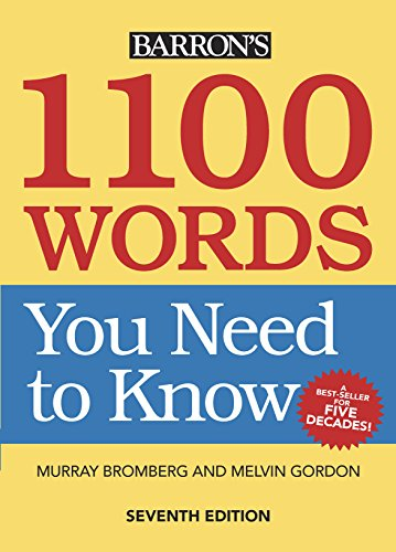 1100 Words You Need to Know (English Edition) - Barron Act-test