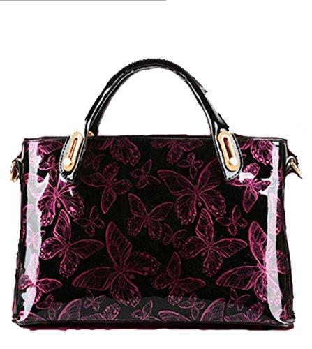 GBT Frauenhandtaschen-Schulterbeutel wine red
