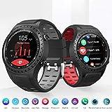 NSADBVTW Montre Sport Smart Watch Support SIM & Bluetooth Appel Téléphonique GPS Smartwatch Téléphone Hommes Femmes IP67 Étanche Moniteur de Fréquence Cardiaque Horloge