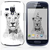 Coque Samsung Galaxy S3 mini de chez Skinkin - Design original : Get the party started par Soltib