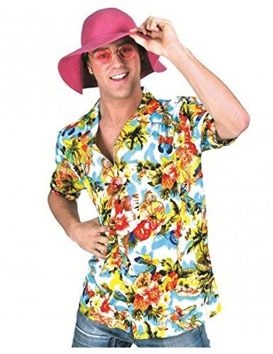 Chemise hawaienne à fleurs (Hawaienne Kostüm)