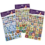 Assorted Christmas Stickers 100/Pk (251656)