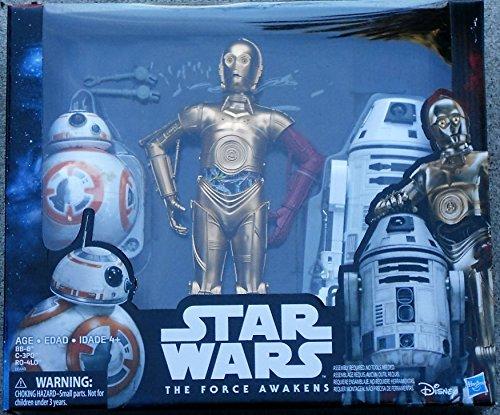 Star Wars Droids 30,5 cm Action Figure Pack - C-3PO - BB-8 RO-4LO - Exklusives Erwachen von Macht (Star Wars-droid-action-figuren)