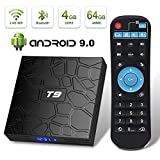 Android 9.0 TV Box Superpow T9 4GB RAM 64GB ROM RK3328 Quad-core Support 4K Full HD 2.4Ghz Wi-Fi BT 4.1 USB 3.0 H.265 Smart TV Box