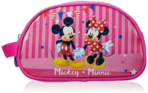 Disney Mickey & Minnie Party Neceser de Viaje, 3.36 Litros, Color Rosa