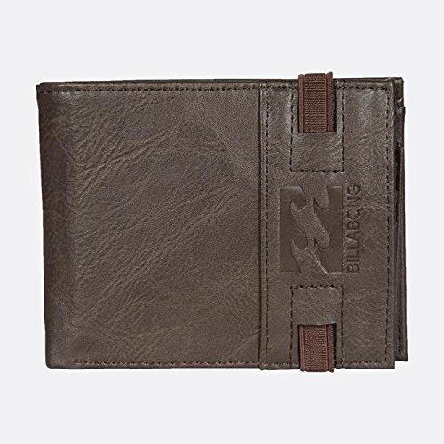 Billabong Locked Wallet, Bolsa y Cartera para Hombre, Marrón (Chocolate), 1x1x1 cm (W x H x L)