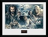 GB Eye Gerahmter Kunstdruck, Der Hobbit - Die Schlacht der fünf Heere, 40x30cm, Mehrfarbig