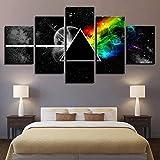 Axiba Stampe e Quadri su Tela,Dipinto su Tela Arte della Parete per Vivere, Pink Floyd Band a Getto d'inchiostro Pittura Computer Inkjet Pittura Pittura Decorativa Core