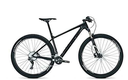 MOUNTAIN BIKE FOCUS RAVEN CORE 29 PULGADAS HOMBRE 22 G SHIMANO SLX DIV  RH  COLOR BLACK/BLACKM  TAMAñO 50  TAMAñO DE RUEDA 29 00 INCHES