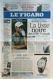 FIGARO (LE) [No 20330] du 10/12/2009 - 6 MILLIARDS D'EUROS DISSIMULES EN SUISSE / LA LISTE NOIRE DES 4000 FRANCAIS - ERIC WOERTH -TIGER WOODS UNE STAR DANS LA TOURMENTE -RIO-PARIS / LA PISTE D'UN PHENOMENE METEO AU-DESSUS DE L'ATLANTIQUE -LA PIZZA NAPOLITAINE OBTIENT SON LABEL EUROPEEN -PATRICK DEVEDJIAN / L'INVITE -TIBEHIRINE / LA THESE DE L'ERREUR MILITAIRE SE PRECISE -LES NOUVEAUX PROGRAMMES DU LYCEE DECRYPTES -OBAMA RECOIT LE PRIX NOBEL DE LA PAIX -COPENHAGUE / SUSPENDU A L'AIDE EUROPEENNE...
