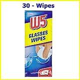 30 REINIGUNG WIPS W5 Geeignet für die Reinigung von Brillen, Kameras, Ferngläser, Autospiegel, Helmvisiere, Computerbildschirme, Fernseher, Handys iphone Android
