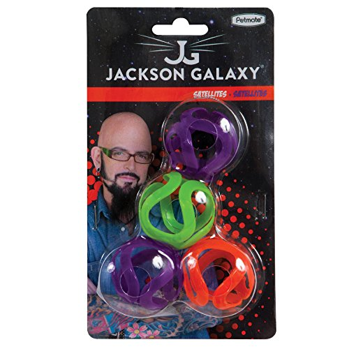 Pet Mate Jackson Galaxy Satelliten Katzenspielzeug