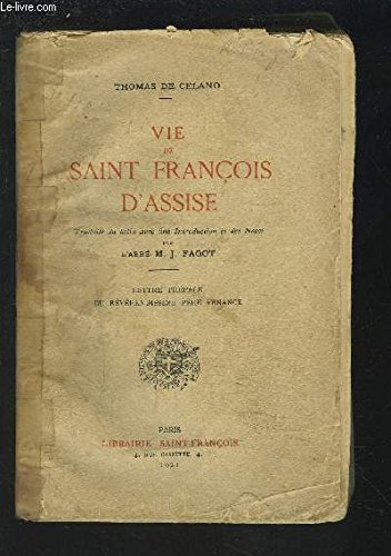 VIE DE SAINT FRANCOIS D'ASSISE.