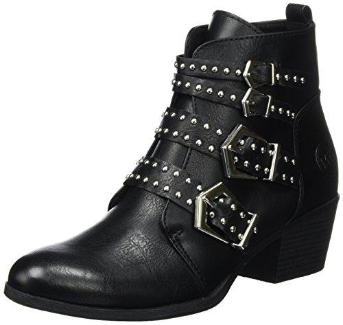 MARCO TOZZI Damen 25053 Biker Boots, Schwarz (Black Antic), 38 EU