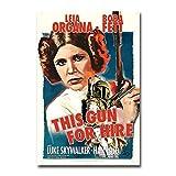 NOVELOVE Immagine di Arte della Parete Beccuccio per Questo Gun Noleggio Classico Film Poster Stampa Pittura su Tela Senza Cornice 30 x 45 cm