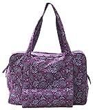 Yogishop Yogatasche Twin Bag - Take Me Two Paisley Fusion Violet