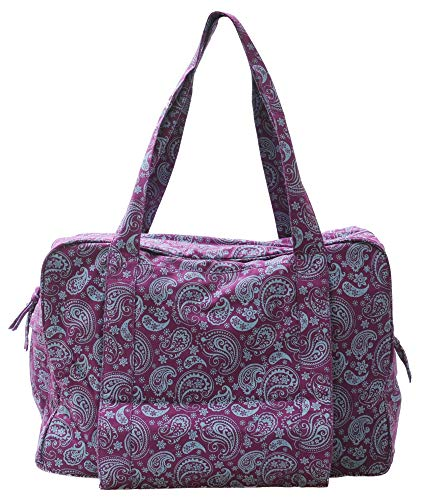 Yogishop Yogatasche Twin Bag - Take Me Two Paisley Fusion Violet