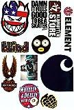 Skate Marken Aufkleber 10 Sticker im Set streng limitiert nur geringe Auflage!