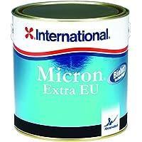 International Micron Extra EU Antivegetativa autolevigante, colore: Nero, size: 2,5 lt