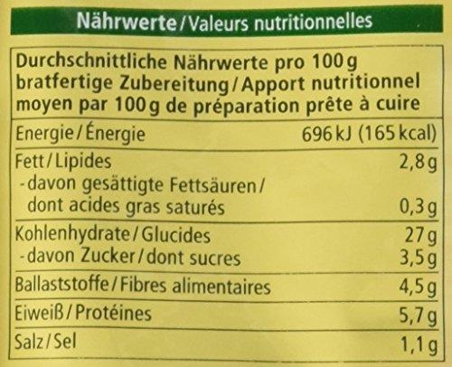 Alnatura Bio Vollkorn-Burger Gemüse, 5er Pack (5 x 210 g) - 3