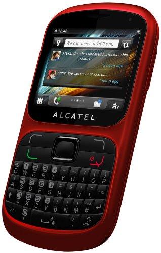 Alcatel 813D 2 4  101g Rojo - Tel  fono m  vil  6 1 cm  2 4    320 x 240 Pixeles  TFT  262144 colores  SD  16 GB