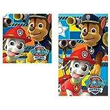 Nickelodeon Set Handtuch Hände Patrulla Canina Paw Patrol Algodon