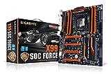 Gigabyte GA-X99-SOC Force Mainboard Sockel LGA 2011-13 (ATX, Intel X99, 8x DDR4-Speicher, 10x SATA III, 8x USB 3.0)