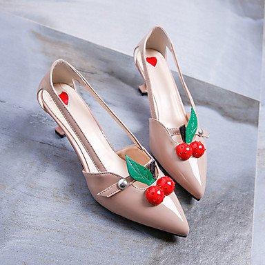 Zormey Frauen Heels Feder Komfort Pu And Low Heel Strass US6.5-7 / EU37 / UK4.5-5 / CN37