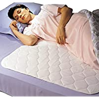 Priva High Quality Ultra Waterproof Sheet and Mattress Protector 34x47 Inch, 8 Cups Absorbency, Guarantee 300 Machine