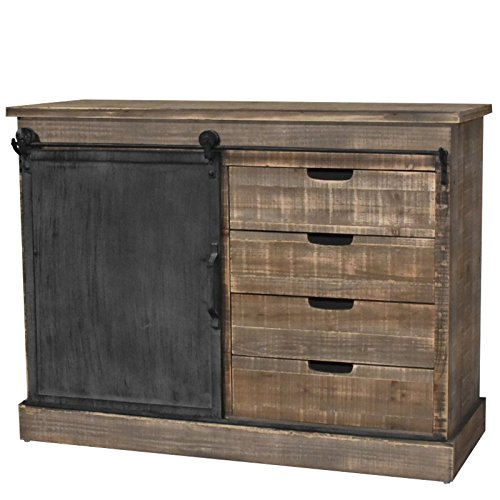 meuble buffet industriel. Black Bedroom Furniture Sets. Home Design Ideas