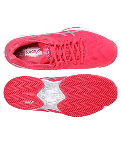 Asics Gel-Solution Speed 3 Clay, Tennis women Rouge