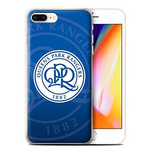 Officiel Queens Park Rangers FC Coque / Etui pour Apple iPhone X/10 / Noir Design / QPR Crête Club Football Collection Bleu Marin