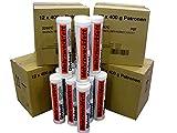 60x Mehrzweckfett à 400ml Fettkartusche, Kartusche, Lithium, Fett 22971