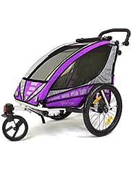 Qeridoo Sportrex 1 Kinder-Fahrradanhänger (1 Kind)
