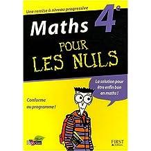 Maths 4e pour les nuls