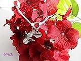 Armband für Trauzeugen, Brautmama, Braut, Brautjungfer, kleines Herz Nummer 2