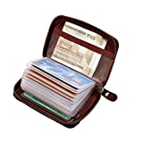 ABYS Genuine Leather Bombay Brown Unisex Card Stock||Credit Card Holder||Business Card Case