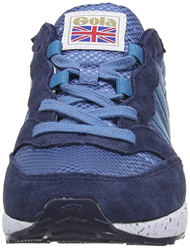 Gola Samurai, Baskets mode femme Gris (Flint/Navy/Teal)