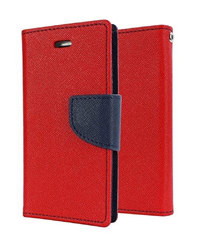 RJR Mercury Goospery Wallet Diary Style Flip Back Case Cover For Micromax Canvas HD A116 -Red  available at amazon for Rs.199
