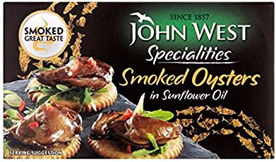 John West Smoked Oysters in Sunflower Oil (85g)