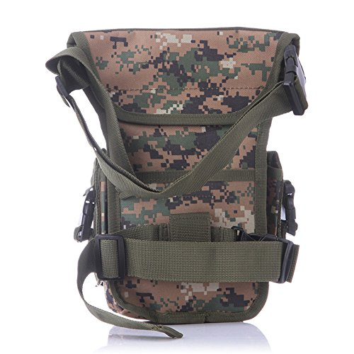 ruifu Multifunktions Outdoor Bein Tasche Utility Oberschenkel Fanny Wasserdicht Tactical Waist Pack Jungle Digital