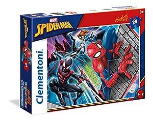 Clementoni 24497Spiderman-Máxima de Puzzle, 24Piezas