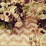 trlyc 120cm*210cm schimmernden Glanz Pailletten Stoff Fotografie Hintergrund für Hochzeit auf Verkauf Farben sind erhältlich, Sonstige,champagne chevron, 4ft*7ft sequin backdrop