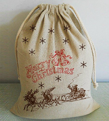 Vintage Merry Christams nueva diseño reno Papá Noel